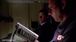 Ben reading Ulysses