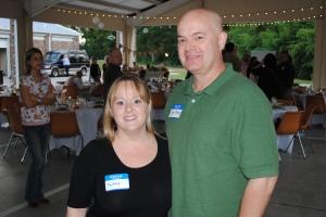 Lisa and her husband Bryan