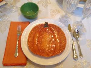 pumpkin plates