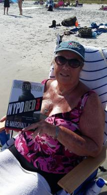 This is Beth, a reading machine and she vacations several times a year. She's living the life!